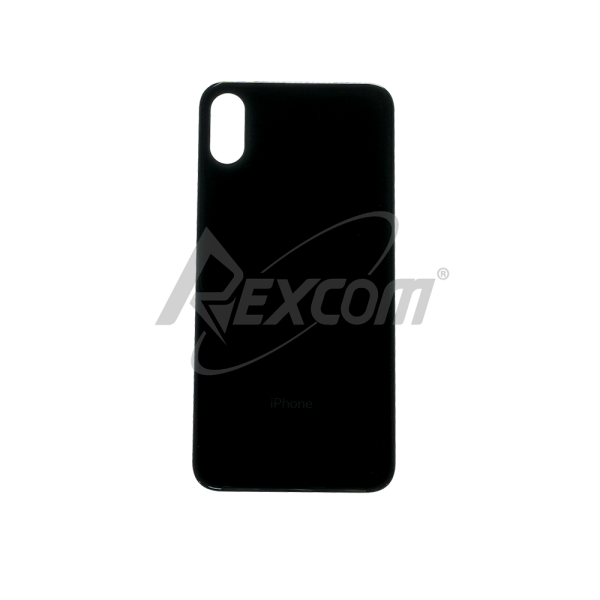 iPhone XS - Backcover Glas Big Hole