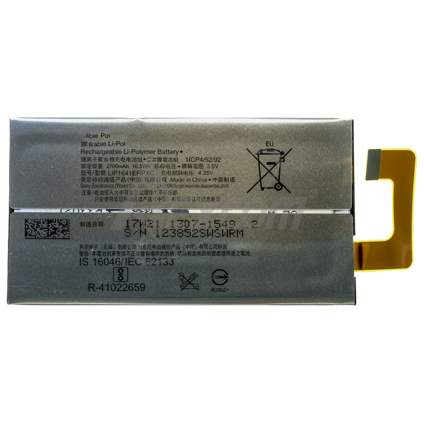 Sony XPeria XA1 Ultra - Akku