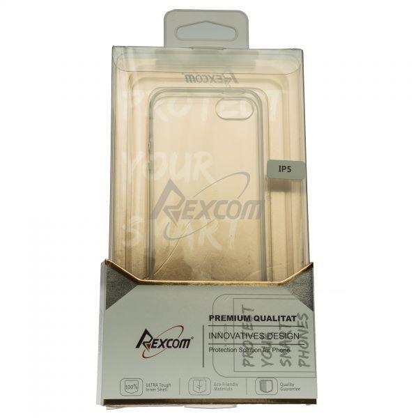 Rexcom® Premium TPU Case für iPhone 5/5C/5S/SE