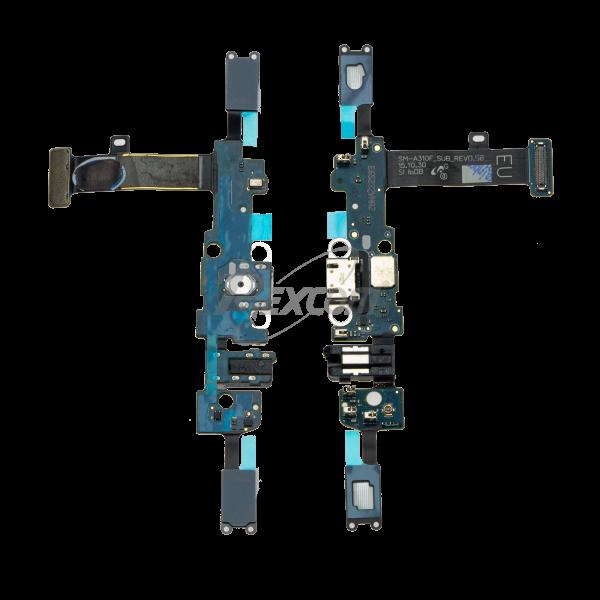 Samsung Galaxy A3 2016 - Ladebuchse Flex