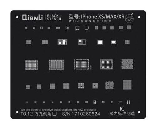 Qianli - iBlack 2D Stencil