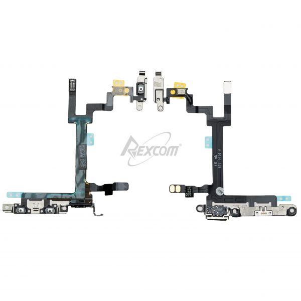 iPhone 5 - Powerflex / Volumeflex mit Metallteile