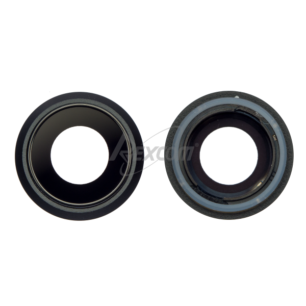 iPhone 8 - Kameralinse mit Rahmen