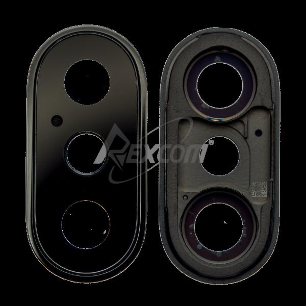 iPhone X - Kameraglas mit Rahmen