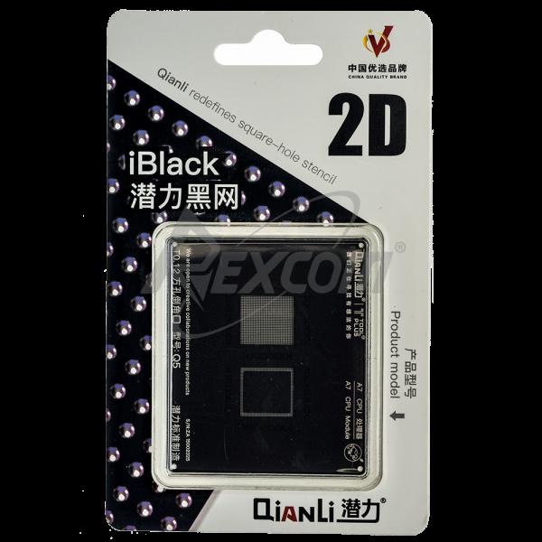 iBlack Qianli 2D CPU Stencil A7 - iPhone 5s