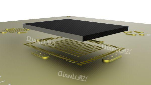 Qianli 3D CPU Stencil Gold